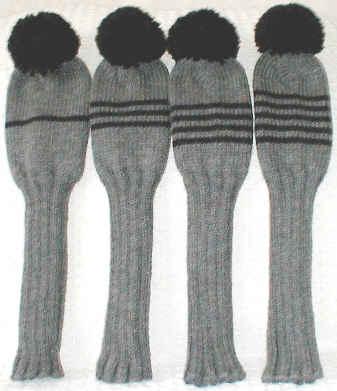 Knit Golf Club Cover Designs